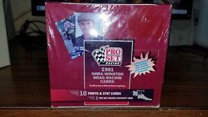 1991 Pro Set Racing NHRA Winston Drag Racing Card Sealed Box 36 Wax Packs