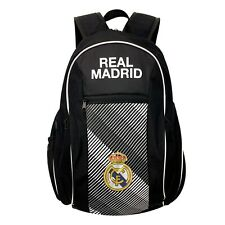 Real Madrid Backpack, Fits Size 5 Ball In The Pocket, Licensed Real M. Backpack