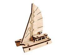 Young Modeler Wooden Model Kit_Run! Catamaran sailboat(YM861-24) : hobby toy Gam