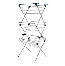 3 Tier Plus Indoor Airer with 21 m Drying Space, Silver