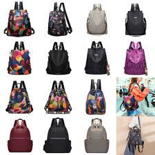 Women Backpacks Oxford Cloth Nylon Anti-theft Shoulder Satchel Handbags Fashion