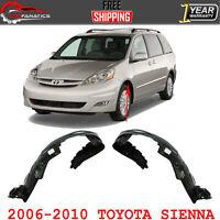 Front Driver Side Inner Fender Splash Shield Fits 04-05 Toyota Sienna TO1248130