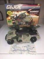 Gi Joe ARAH 1990 Hammer Complete With Box And Instructions