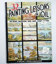 32 Painting Lessons In Oil Landscapes Walter Foster Art Instruction Book