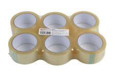 Connect 35211 General Purpose Clear Parcel Tape 48mm x 66m - Pack 6