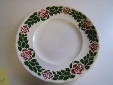 """Societe Ceramique Maestrict Holland Vinatge Plate w/ Roses 9"""""""