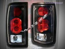86-93 MAZDA B2000/B2200/B2600 ALTEZZA TAIL LIGHTS BLACK