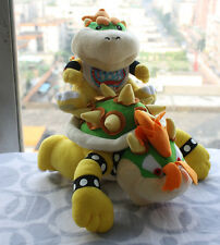 2X Super Mario Bros son Jr and King Koopa Bowser Plush Soft Doll X'mas Toy Gift