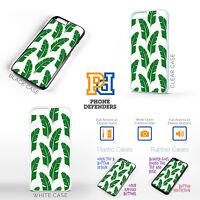 BANANA LEAF TROPICAL Tumblr Inspired Cute Fun Gift Phone Case Cover For iPhone