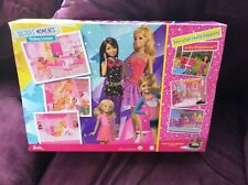 EXCLUSIVE Barbie  Sisters Moments Mattel dolls & Beautiful Mattel Horse MINT