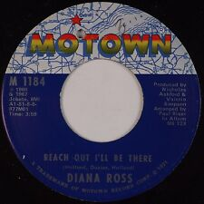 DIANA ROSS: Reach Out I'll Be There / Close To You MOTOWN '67 45 VG+