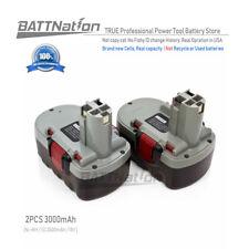 2x 18V Extended 3.0AH Ni-Mh Battery for Bosch 13618 15618 1644-24 1646K1659K1662