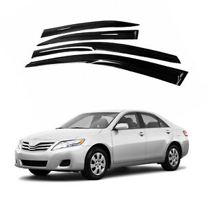 Details about  /Fits Toyota Camry 2007-2011 AVS Carflector Smoked Bug Shield Hood Deflector