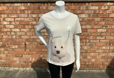 Next Ladies Pyjamas T Shirt Bear UK Size Small