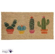 Paillassons, tapis de sol traditionnels en fibre de coco pour la maison