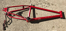 Hutch pro racer bmx frame -project- Painted -crack In Seat mast-
