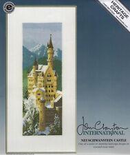 Neuschwanstein Castle counted cross stitch kit by John Clayton heritage crafts