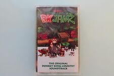 DK JAMZ Donkey Kong Country OST Cassette SEALED Super Nintendo SNES Soundtrack