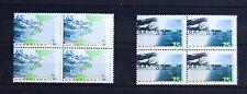 Nederland 1986 nvph 1361-1362 Deltawerken (MNH) blokken van 4