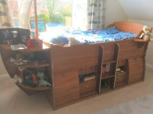 Gautier Pirate Ship Cabin Bed