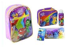 Disney Pixar Inside Out Mega School Set Rucksack, Lunch Bag, Bottle & Stationary
