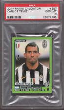 Carlos Tevez 2014 Panini Calciatori Sticker #257 PSA 10 GEM MINT Juventus