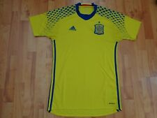 CLASSIC SPAIN AWAY 2016-17 ADIDAS GK GOALKEEPER AWAY FOOTBALL SHIRT MENS S SMALL
