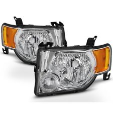 Ford 08-12 Escape Chrome Housing Replacement Headlights XLS XLT Limited