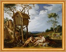 Parable of the wheat and the Tares Abraham Bloemaert Baumhaus Gesù B a3 00183