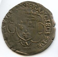 François Ier (1515-1547) Douzain à la croisette Paris Dy. 927