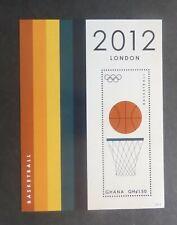 Ghana 2012 Olympics MS BasketBall MNH UM unmounted mint