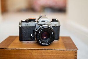 Nikon FM2N 35mm SLR Film Camera Body Only With 50mm f1.8 Nikkor lens