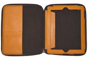 Michael Kors iPad Cover - Tablet Case Leather Cognac Brand New No tags