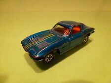 IMPY LONE STAR ROAD MASTER FLYERS CHEVROLET CORVETTE GT  - BLUE 1:58 - GOOD