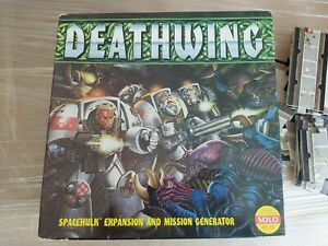 GAMES WORKSHOP : SPACE HULK EXPANSION PACK : DEATHWING ***PLEASE READ.