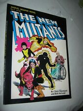 NEW MUTANTS Marvel Graphic Novel #4, VF+, Claremont, 1982, 1st FIRST PRINT