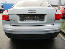 Stoßstange hinten Audi A4 B6 8E Limousine KRISTALLBLAU LY7R Stoßfänger hellbau