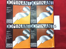 Thomastik Dominant 135B Violin String  Set 4/4 E Ball End 5 Sets