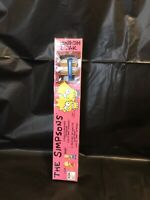 Rare Sealed Vintage 1991 The Simpsons Collectors Tooth Brush Lisa Bart Maxill