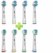 OralShine The Ultimate Oral-B Braun Replacement Electric Toothbrush Heads 8-Pack