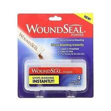 WoundSeal Powder 4 Ea, Stops Bleeding Instantly!