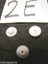 Ingranaggi ingranaggio pezzi di ricambio modellismo meccanismi in plastica 2E