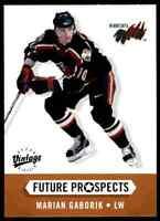 2000-01 Future Prospects Marian Gaborik Rookie Minnesota Wild #381