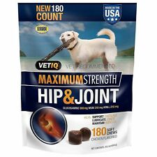 VetIQ Hip & Joint Chews for Dogs, 180 ct. Made In U.S.A