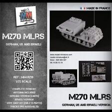 MLRS M270, german, Us and israeli version, Model Miniature,1/72