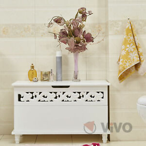 Wooden Chest Jersey White Trunk Sideboard Large Laundry Wood Chest Cabinet Bed