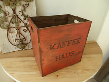 C14 Vintage Box Coffee House Wooden Box Shabby Chic