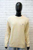 Marlboro Classics Uomo Size 2XL Maglione Felpa Sweater Cardigan Pullover Lana