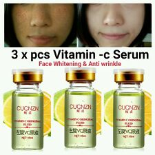 3 X Vitamin-C Serum Strong Anti Wrinkle & Clarifying Scar Removal 100% Natural