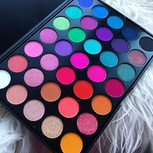Morphe Pro Make Up Palette 35B Fall into Frost Most Popular Eyeshadow Pallete